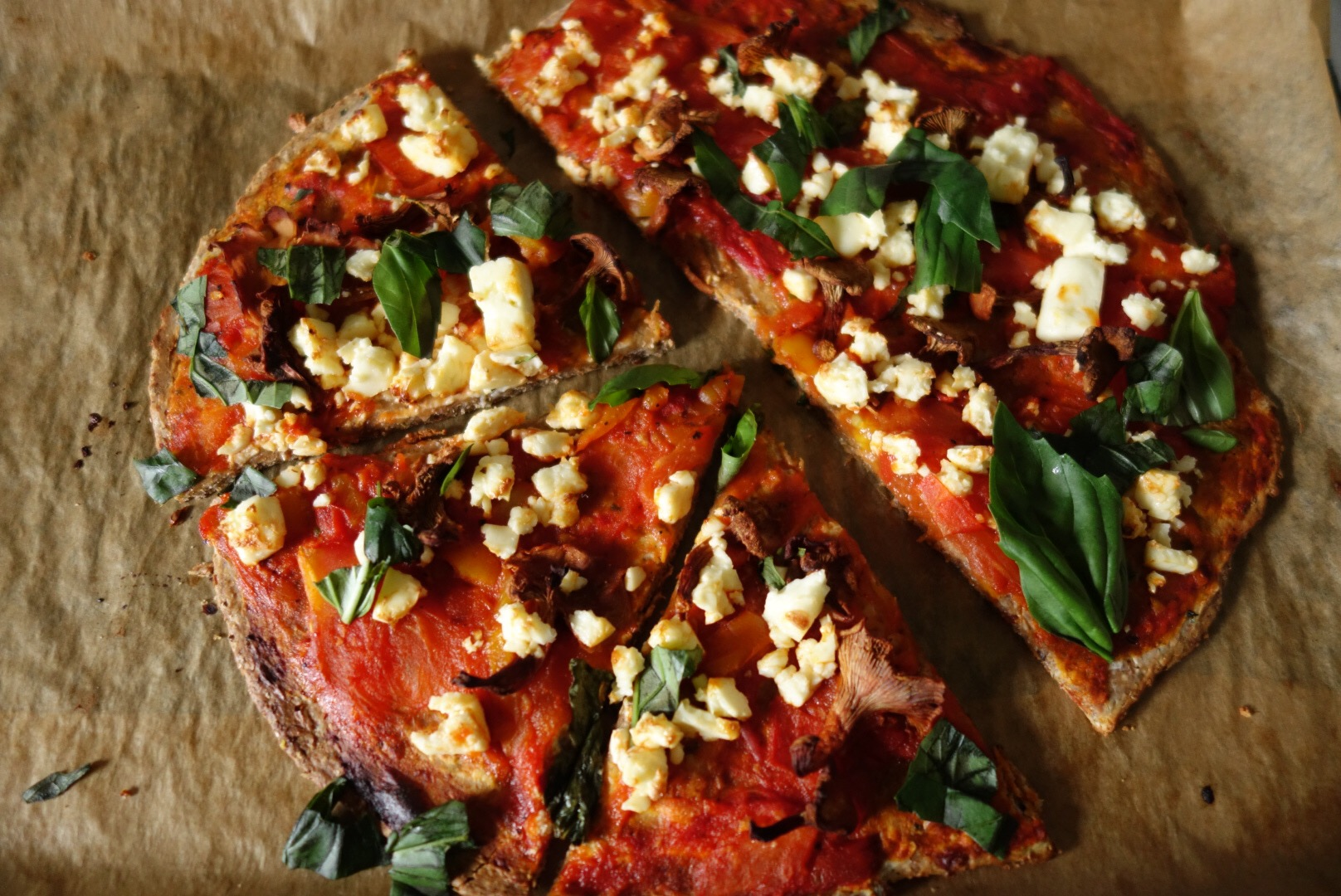 no yeast no rise veggie pizza healthy living recipes